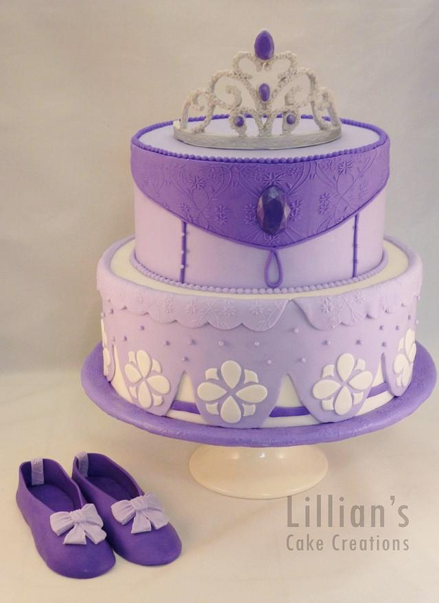 Prime Sofia The First Birthday Cake Cake By Lilly09 Cakesdecor Funny Birthday Cards Online Overcheapnameinfo