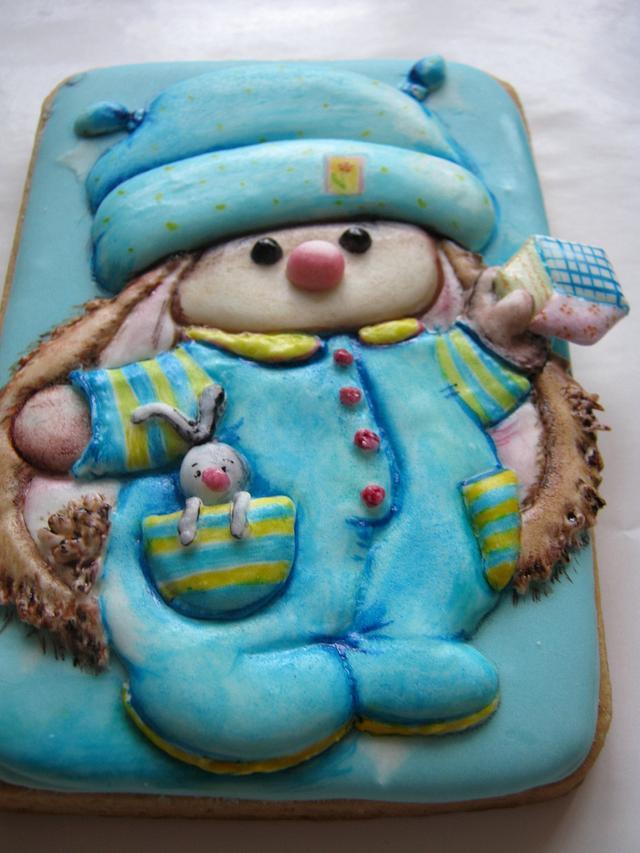 """Cookies """"Bunny it's time to sleep"""""""