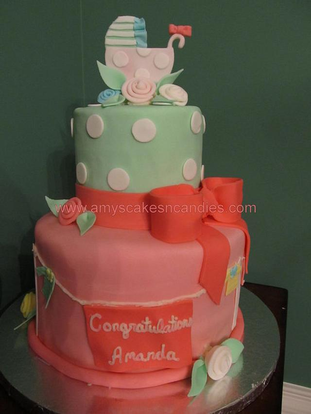 2 Tier Baby Shower