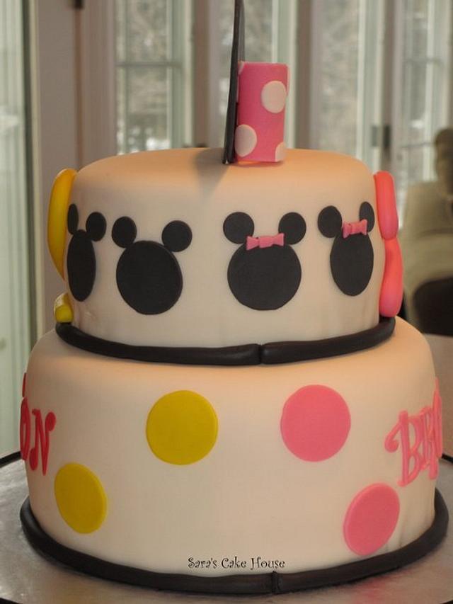 Minnie/Mickey Cake