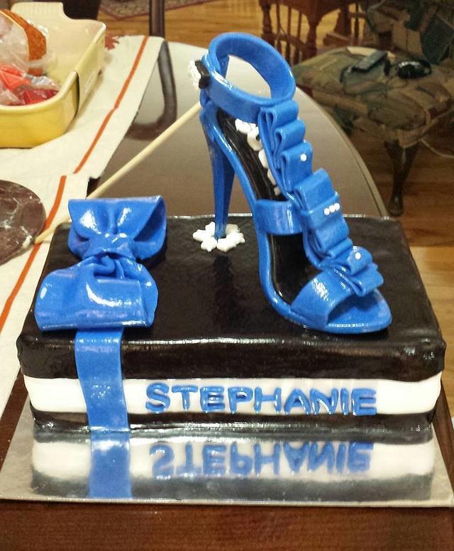 Shoe box & High Heel Cake