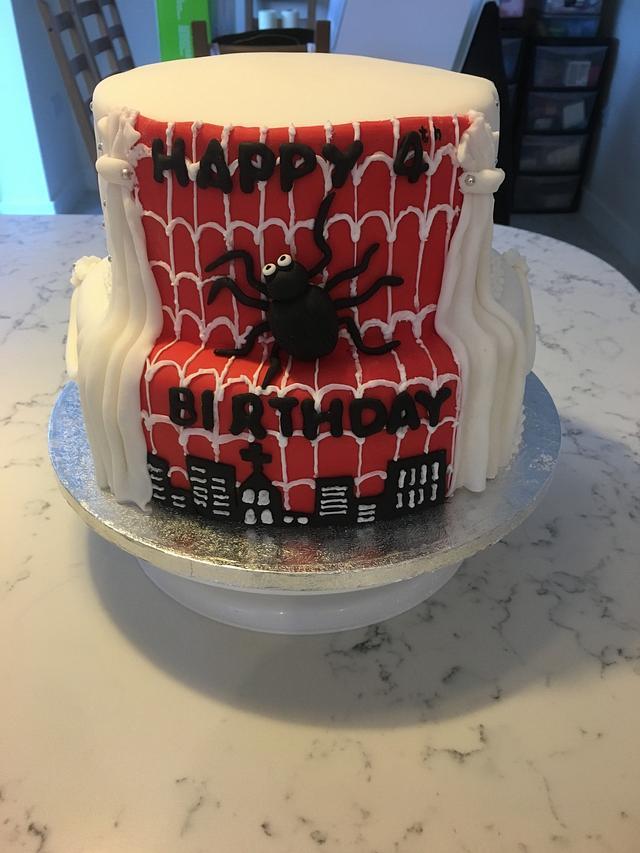 Spider-Man and christening