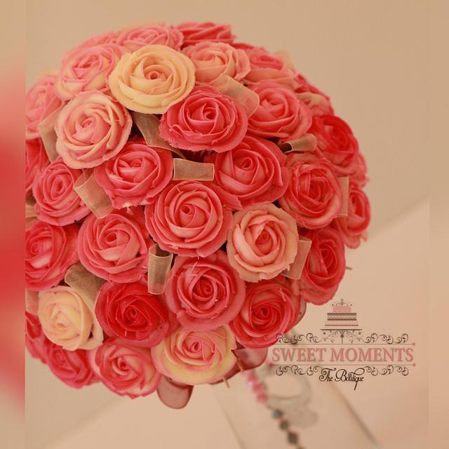 Cupcake Roses Bouquet