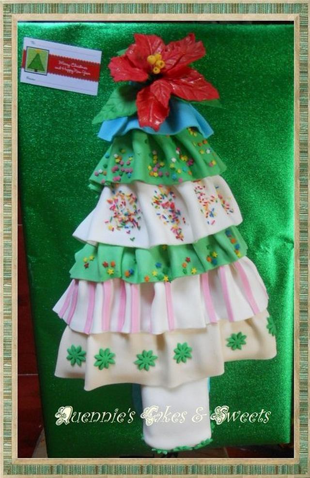 Ruffles Christmas  Tree