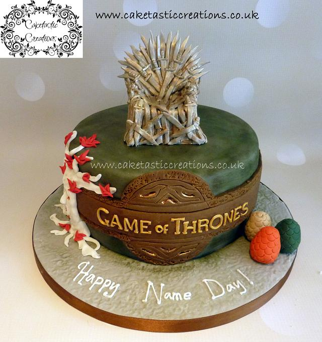Remarkable Game Of Thrones Birthday Cake Cake By Caketastic Cakesdecor Personalised Birthday Cards Cominlily Jamesorg