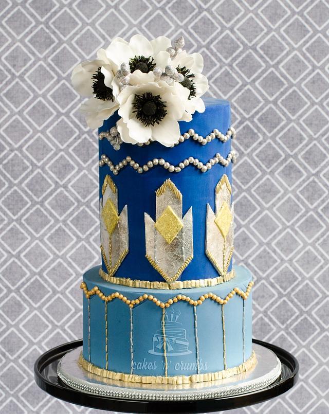 Art Deco style cake