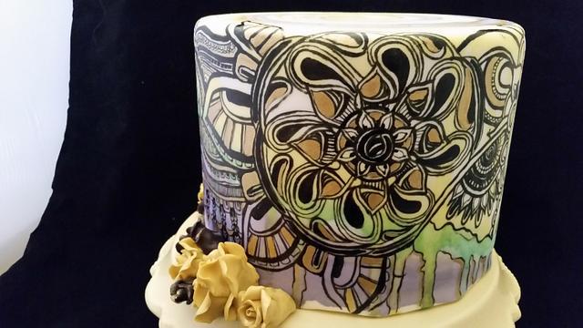 Doodle cake v 2.0