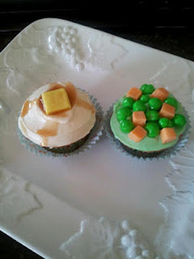 April Fools Day Cupcakes