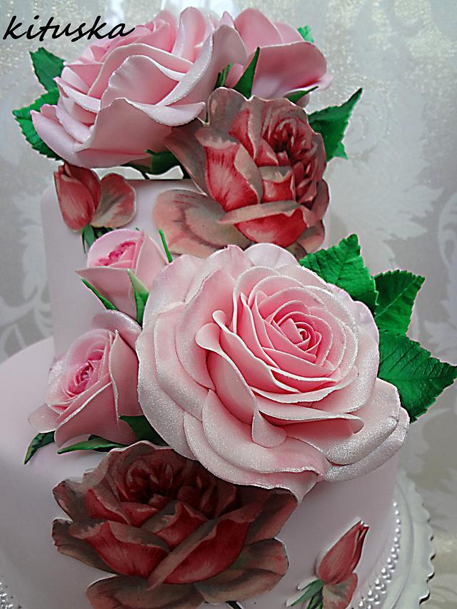Pink sleepink rose