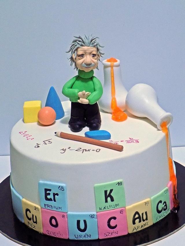 Math, physics, chemistry cake