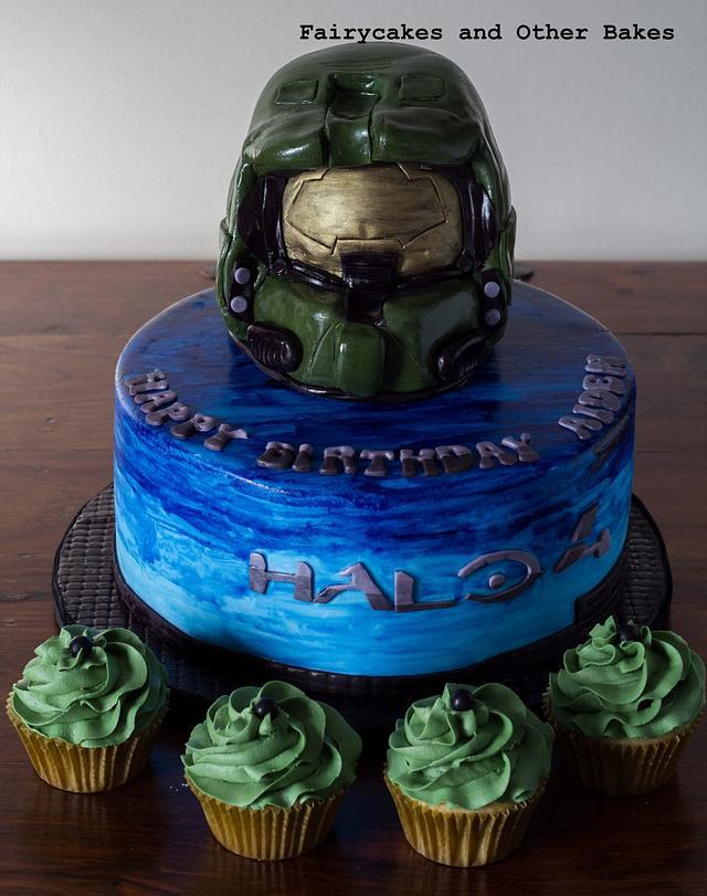 Halo Themed Cake