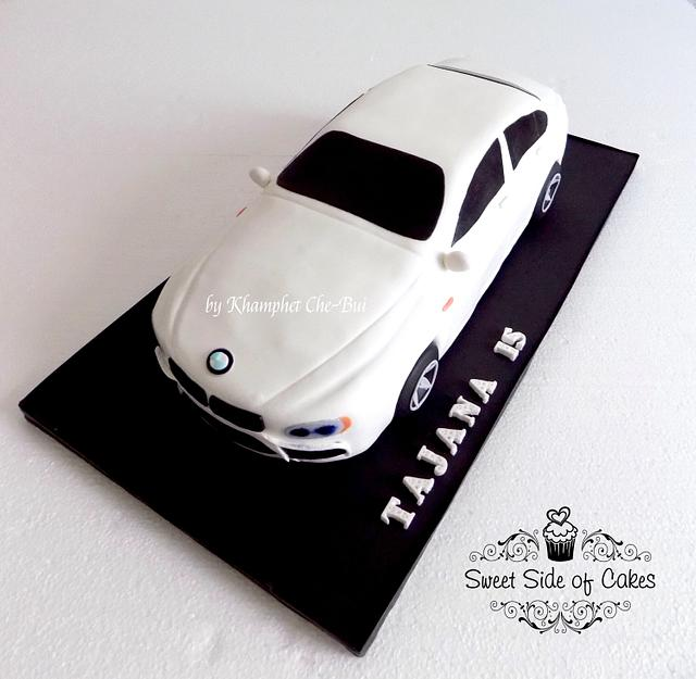 A BMW Car for a Girl