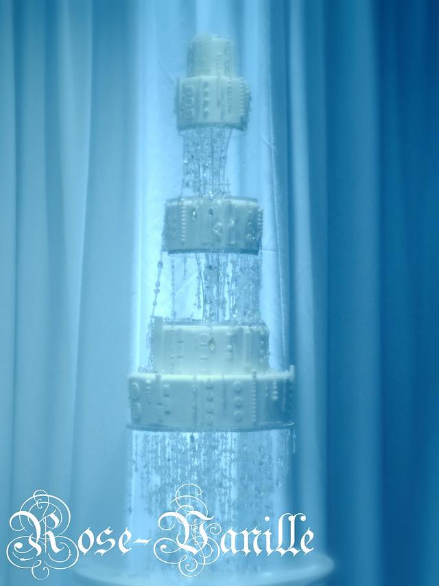 crystals cascade..