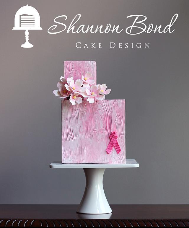 Go Pink Collaboration Cake