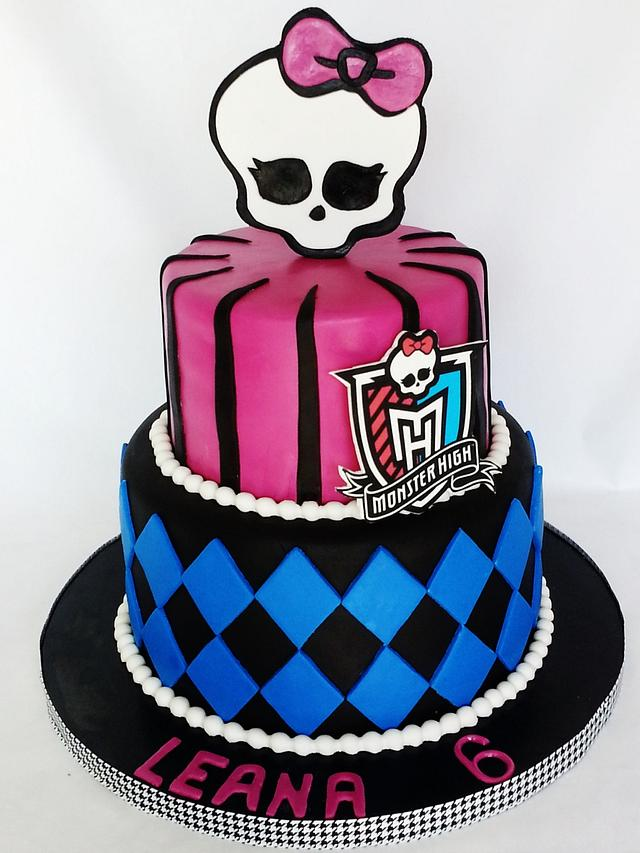 Outstanding Monster High Birthday Cake And Pops Cake By Enza Cakesdecor Funny Birthday Cards Online Fluifree Goldxyz