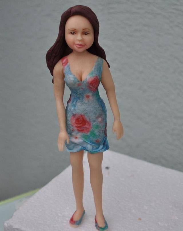woman from sugarpaste