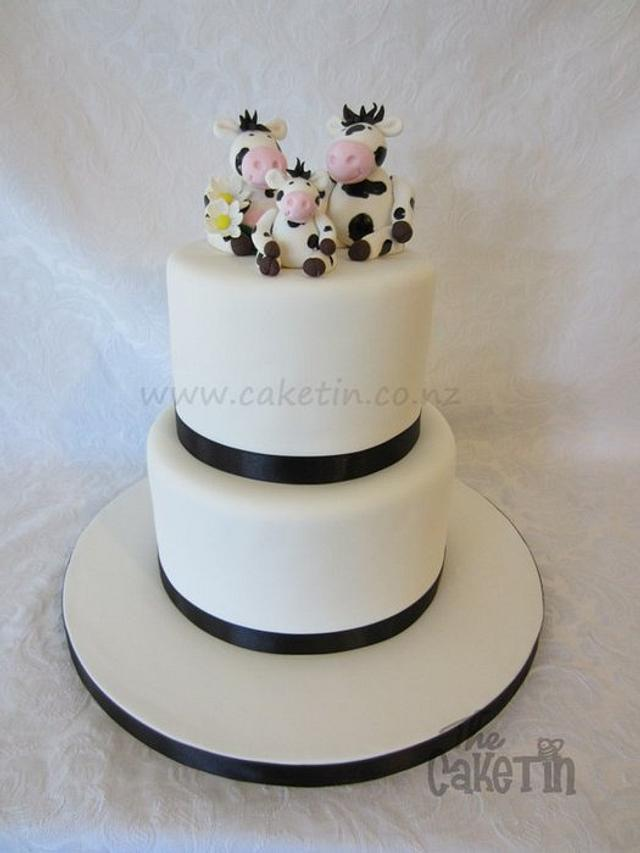 Dairy Farmers Wedding Cake
