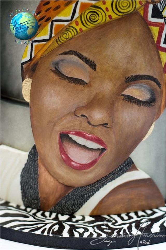 African music cake