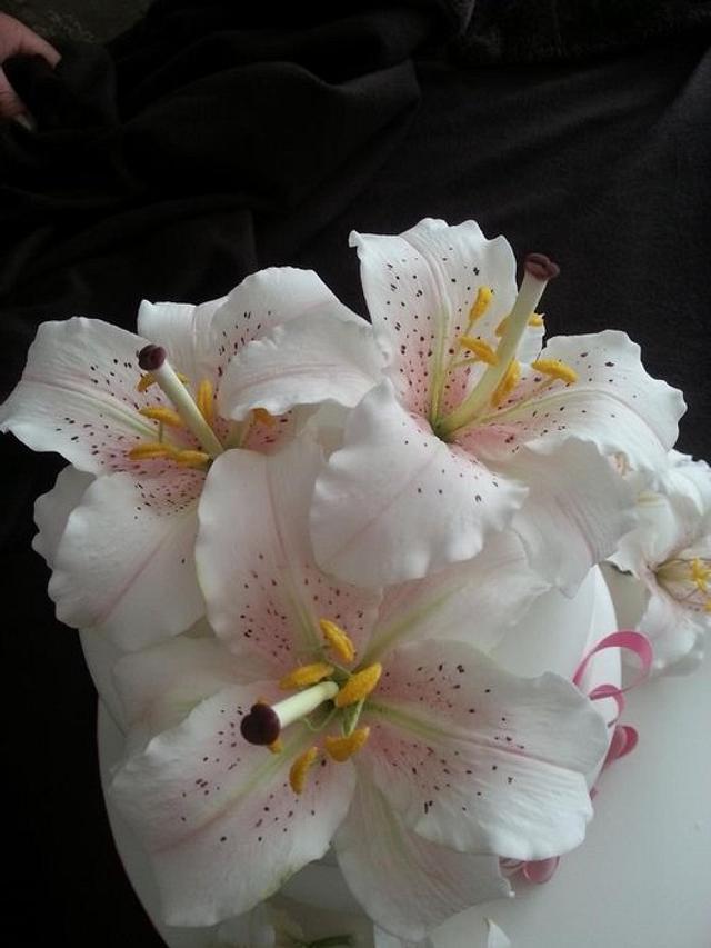 Oriental Sugar Lilly cake