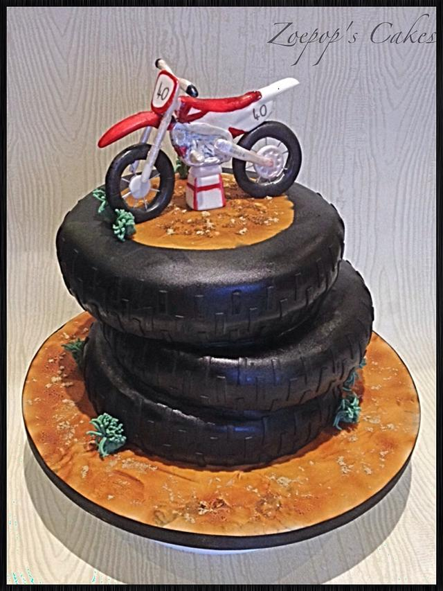 Magnificent Motocross Cake Cake By Zoepop Cakesdecor Funny Birthday Cards Online Alyptdamsfinfo
