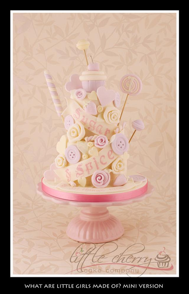 Sugar and Spice and All Things Nice Cake (mini version!)