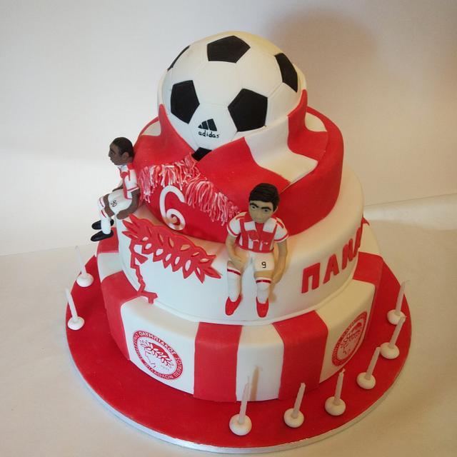 Olympiakos cake