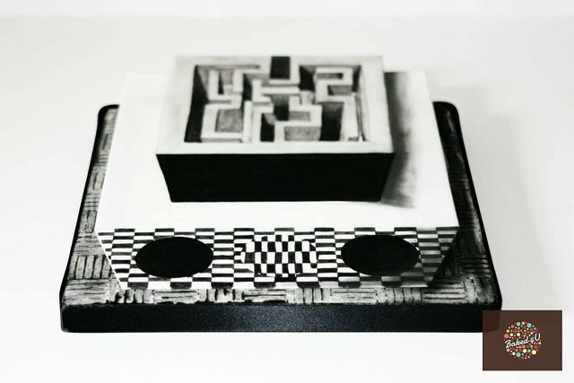 Crazy Maze - optical illusion