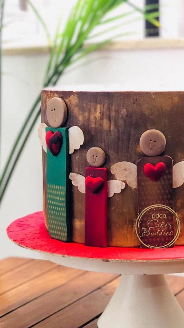 Caker Buddies Valentine Collab A love so good....Touchwood!