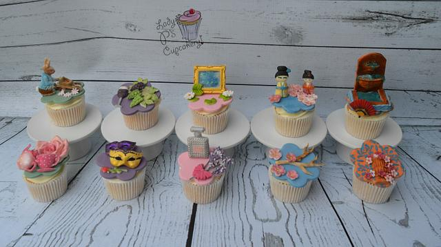 Cupcakes - Gardens of the World Collaboration xx