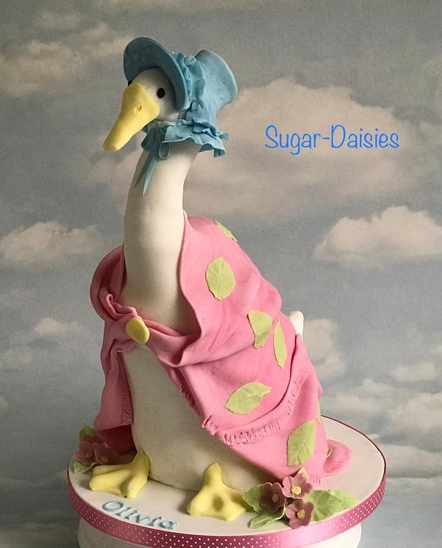 Jemima Puddle Duck cake