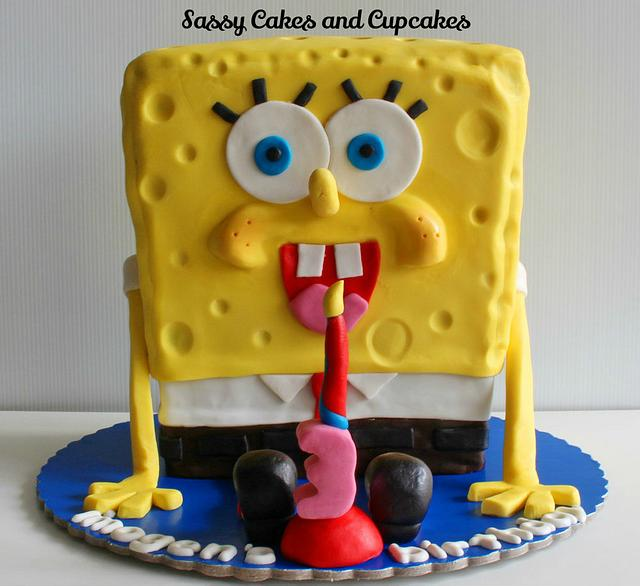Spongebob Squarepants birthday celebration