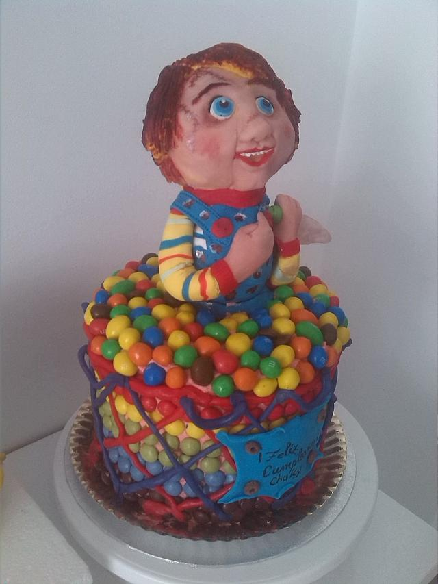 Admirable Funny Chucky Cake Cake By Catalina Anghel Azucararte Cakesdecor Funny Birthday Cards Online Sheoxdamsfinfo