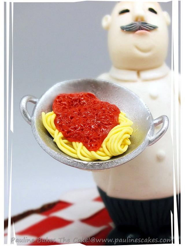 """Spaghetti Al Panettone"" An Italian Affair For My Dad's Birthday!"