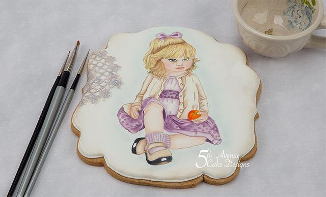 An Age of Innocence Hand Painted Cookie Course 💕 😇💕