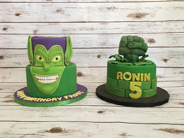 Green Goblin vs Hulk