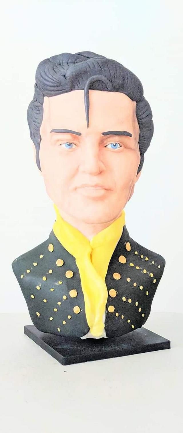 Elvis-Presley- Gone too soon Cake Collaboration