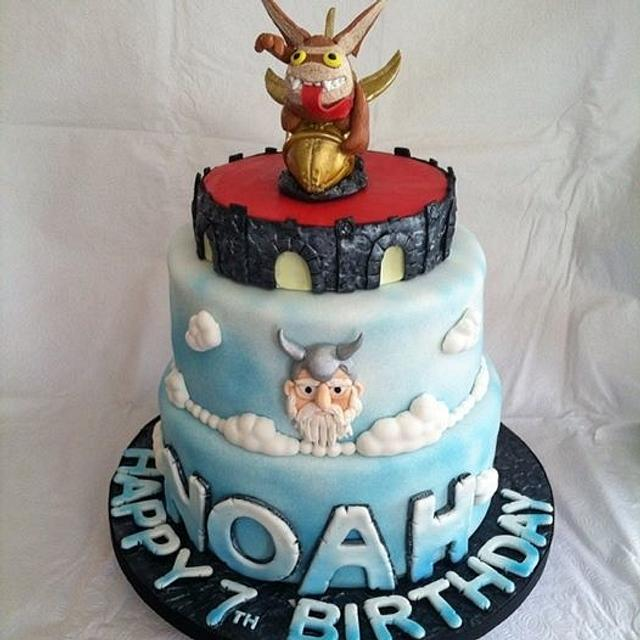 Sensational Skylander Video Game 2 Tiered Fondant Birthday Cake Cakesdecor Funny Birthday Cards Online Inifofree Goldxyz