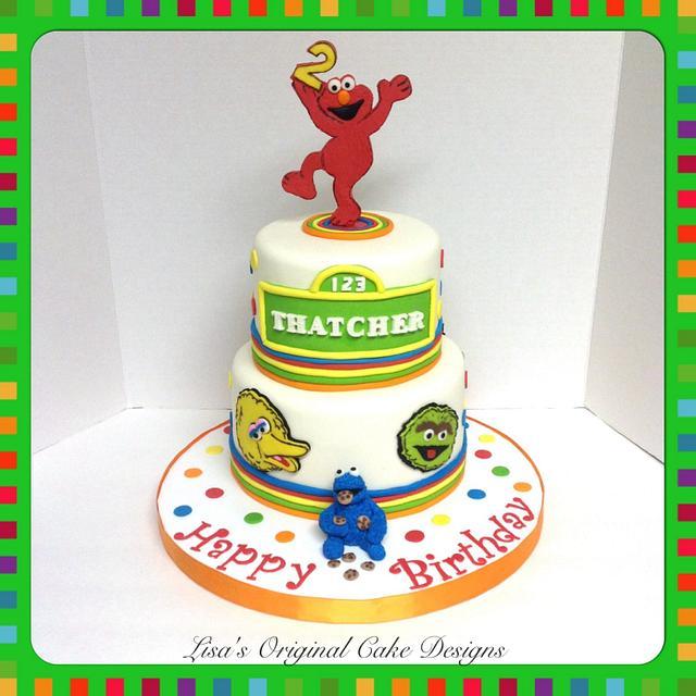 Prime Sesame Street Cake By Locd Cakesdecor Personalised Birthday Cards Petedlily Jamesorg