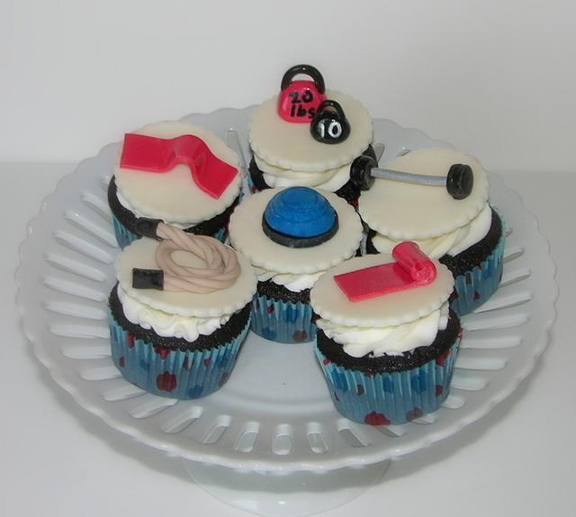 Workout Cupcakes