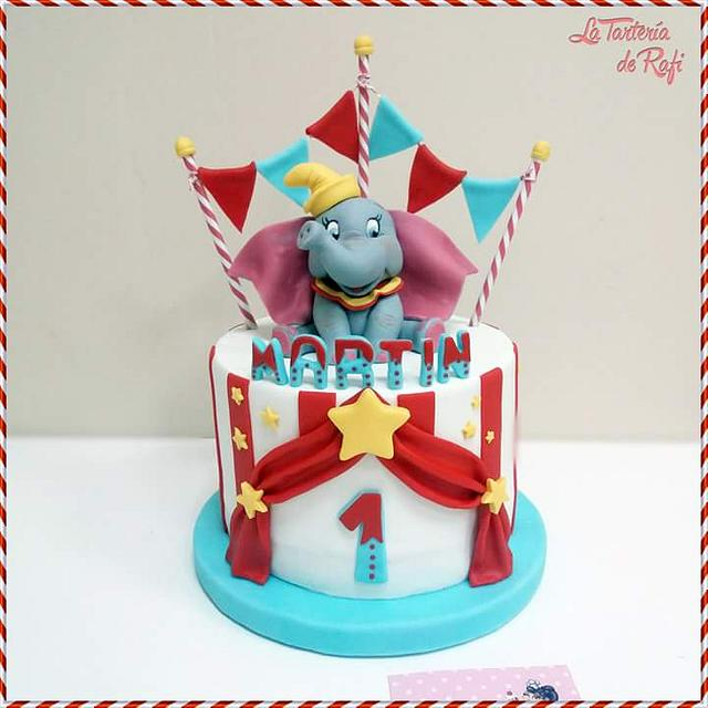 Circus cake 🎪🐘