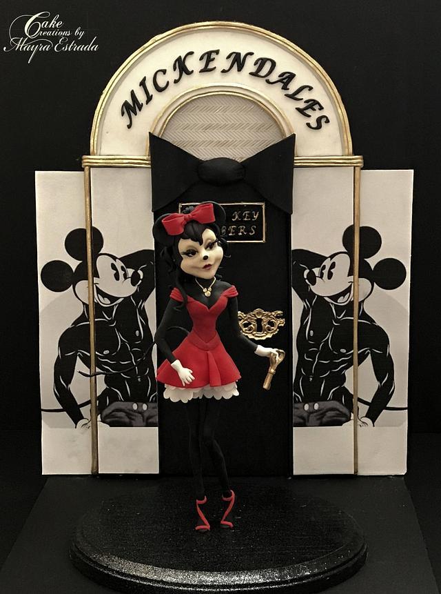 Minnie A Girls Night Out - Disney Deviant Sugar Art Collaboration
