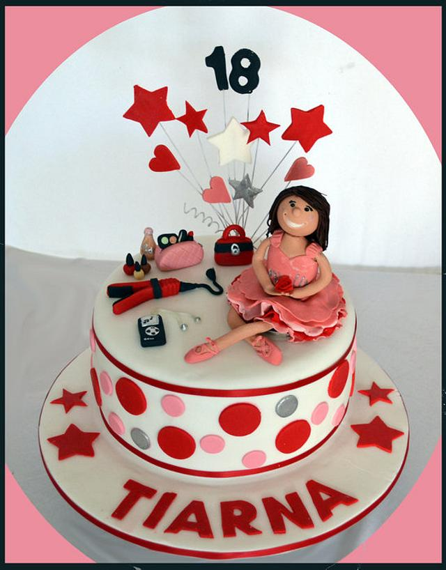 Its all about her cake