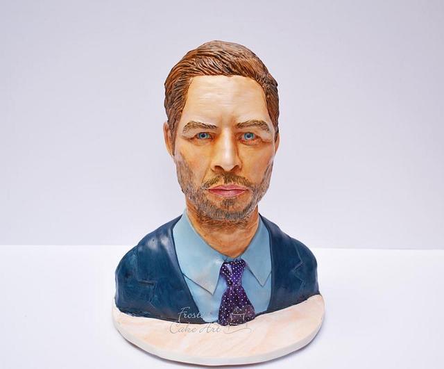Paul Walker Bust Cake!