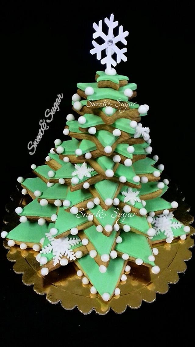 3D Christmas Cookies Tree