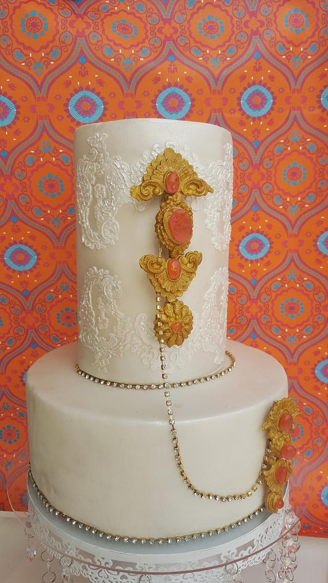 PDCA Cakes Buddies Dessert Table Collaboration- Rotating Bejeweled Chandelier Table
