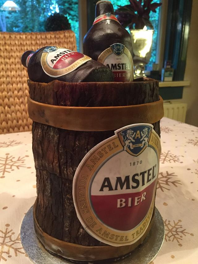 Amstel Beer cake