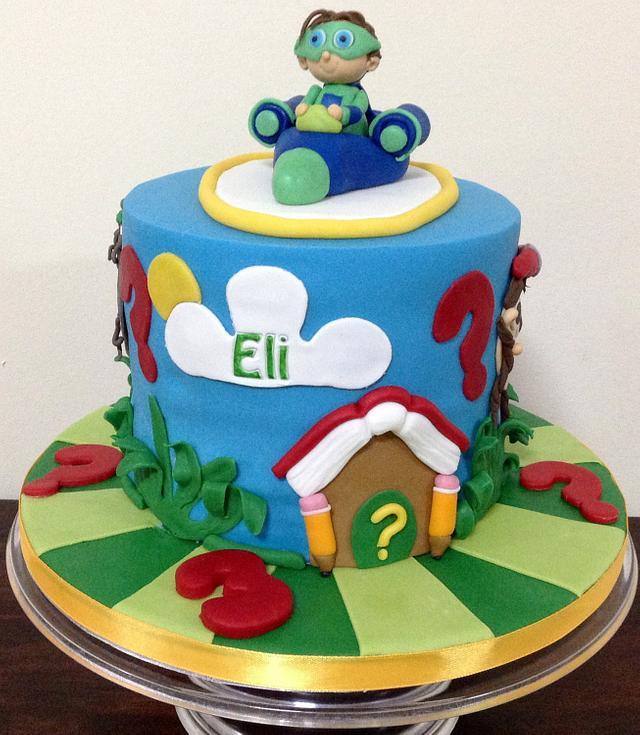 Miraculous 3Rd Birthday Super Why Cake Cake By Mariastubbs Cakesdecor Personalised Birthday Cards Paralily Jamesorg