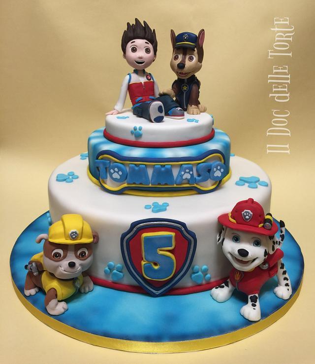paw patrol cake  cakedavide minetti  cakesdecor