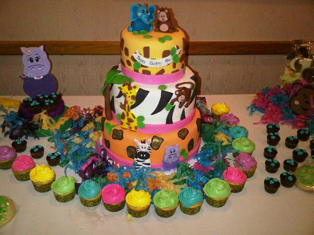 Safari's birthday cake!
