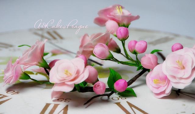 Gum Paste Sakura